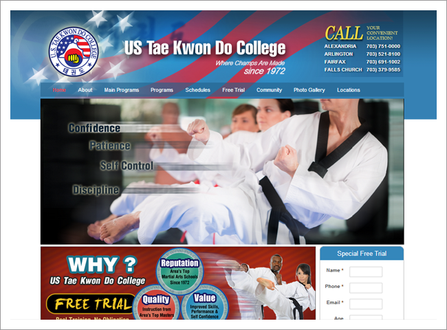 US TKD College